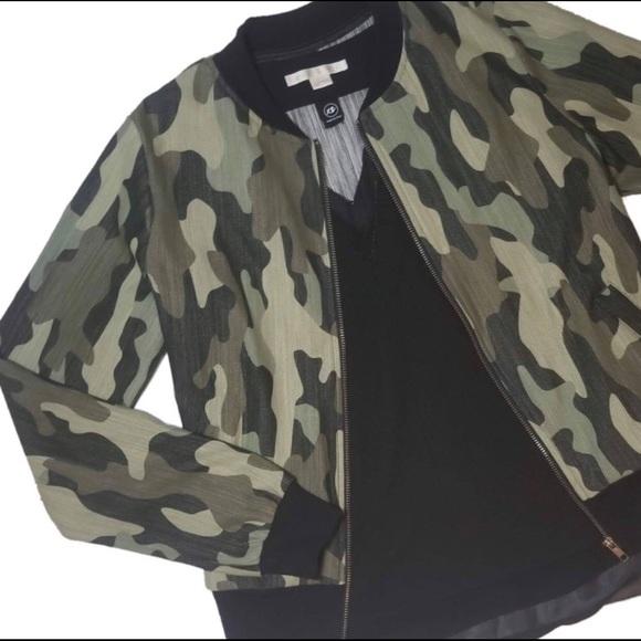 9b2a0b866 Camo Bomber Jacket